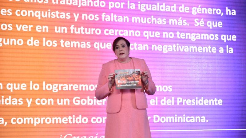 Janet Camilo presenta avances en materia de igualdad en los seis años del gobierno de Danilo Medina