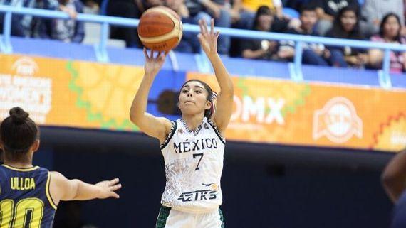 Karla Martínez, el ejemplo del nuevo proceso del basquetbol mexicano