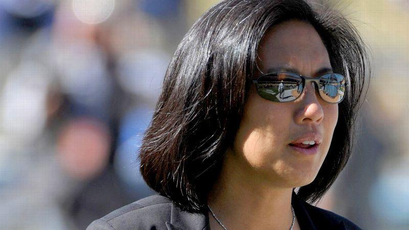 Kim Ng, una ex pasante de los Medias Blancas, ahora es la mujer de más alto rango en MLB