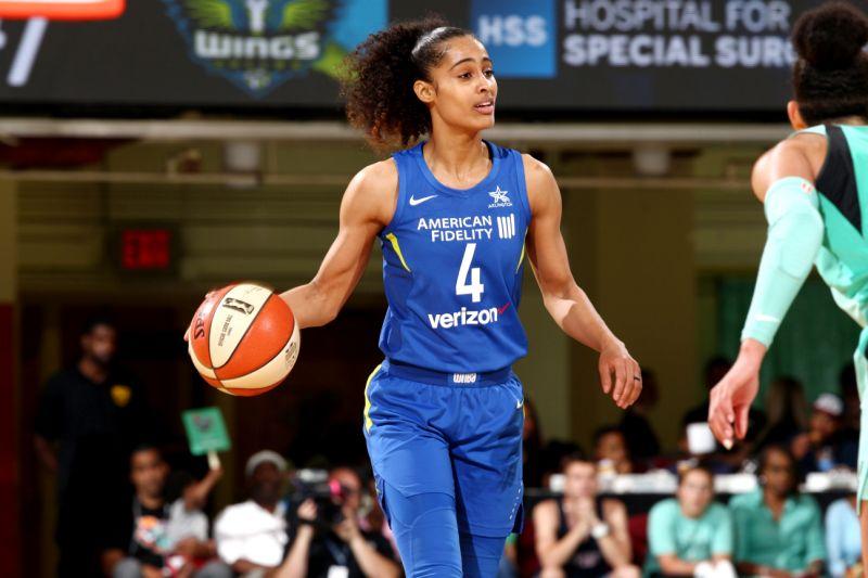 Skylar Diggins, la estrella de la WNBA que encabeza lucha por la igualdad