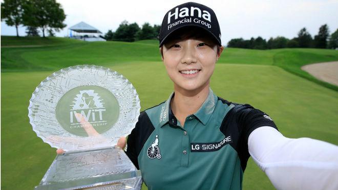 La coreana Sung Hyun Park gana en Indianápolis su tercer torneo del año
