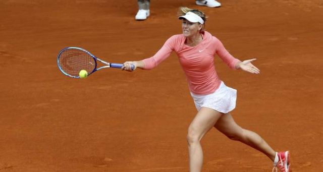 María Sharapova pone fin a su temporada por lesión en el hombro