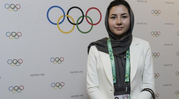 El COI elige una afgana de 24 años como miembro