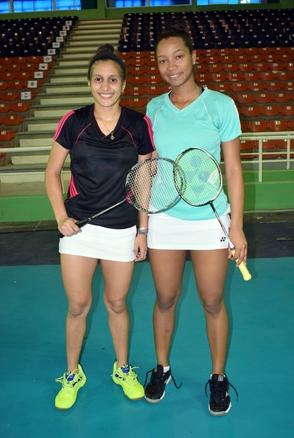 Nairobi y Bermary, bronce en dobles