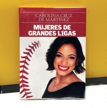"""""""Mujeres de Grandes Ligas"""", un libro de Carolina Cruz"""