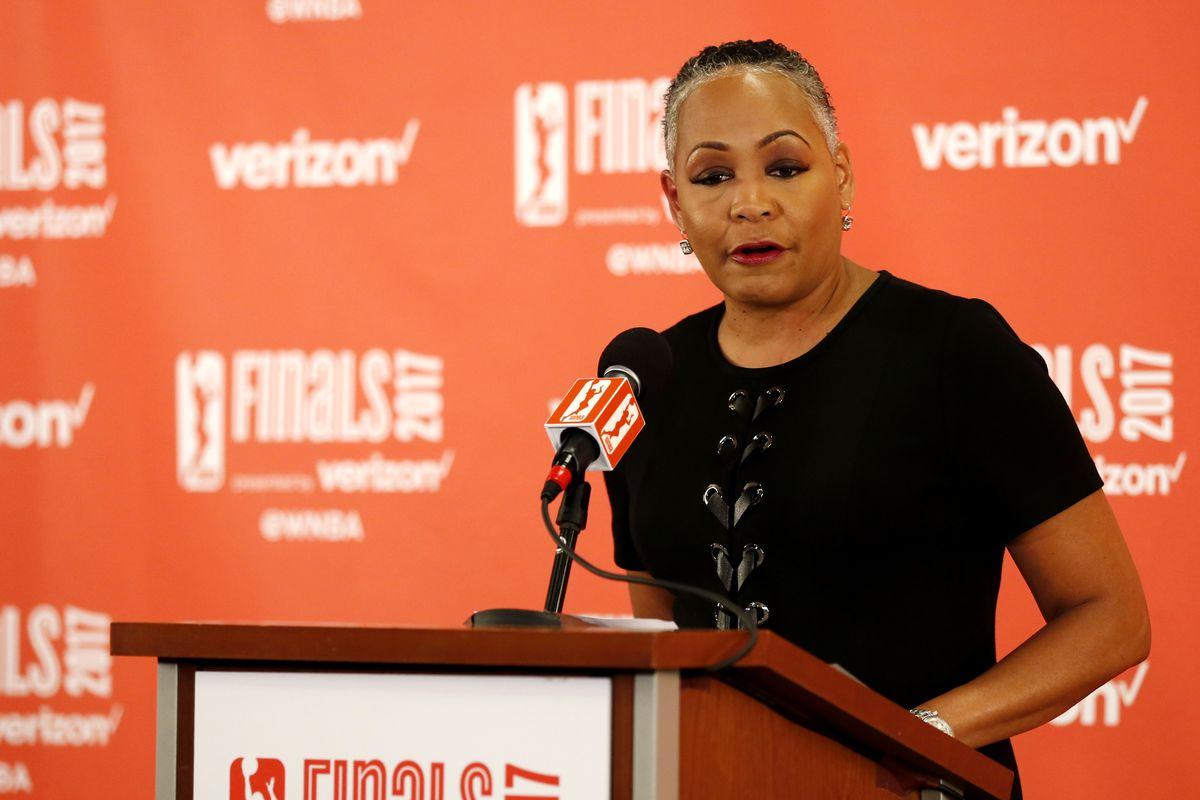 Lisa Borders deja la presidencia de la WNBA y se va a Time