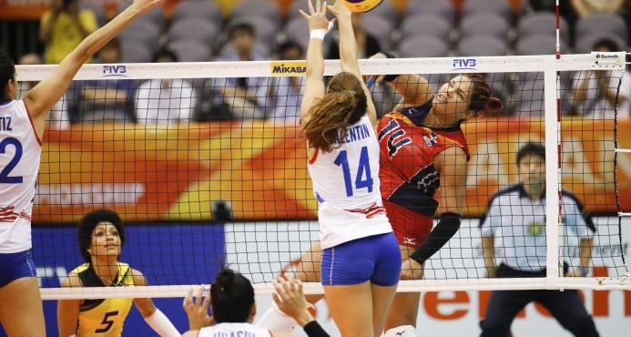 Dominicana vence a Puerto Rico 3-0 en Mundial de voleibol