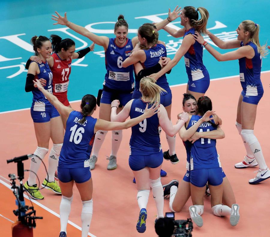 Serbia jugará por primera vez una final del Mundial de Voleibol femenino
