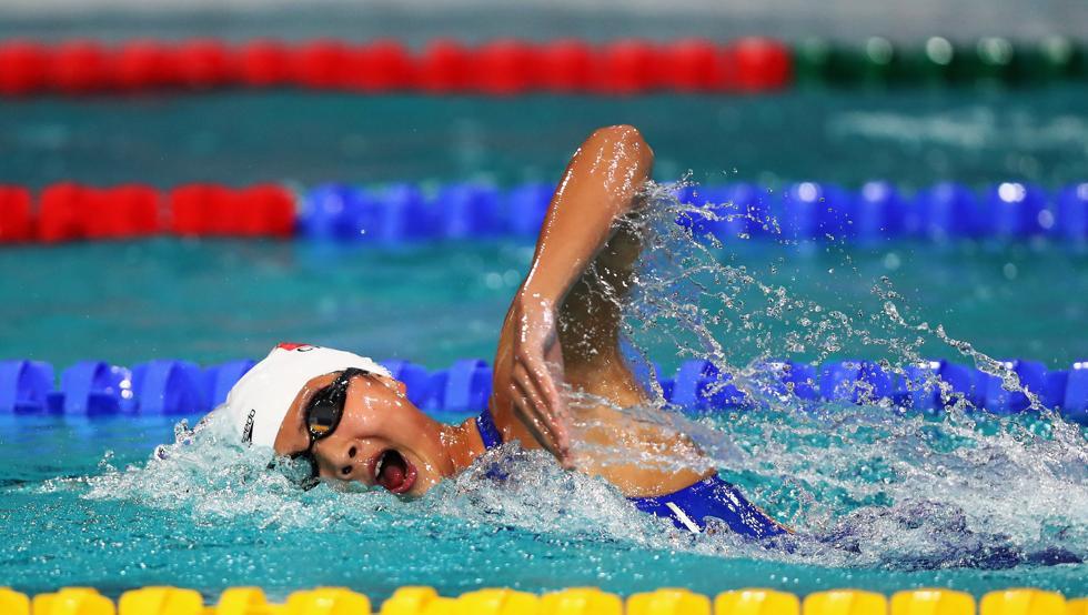 Wang coquetea con el récord del mundo de 400 libre en corta