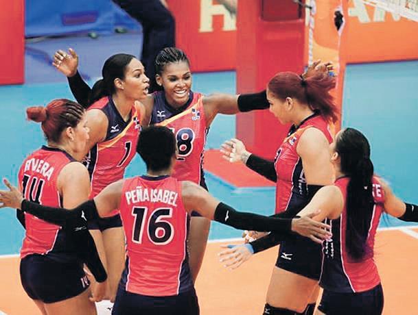 Voleibol femenino gana primero en el Mundial