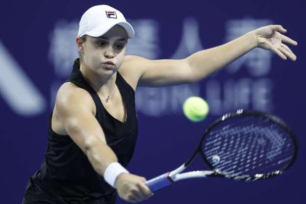La australiana Barty gana el 'Masters B' en Zhuhai