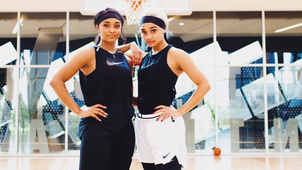 Las gemelas González, influencers de Instagram, quieren jugar en la WNBA