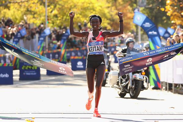 Keitany vuelve a ganar la Maratón de Nueva York