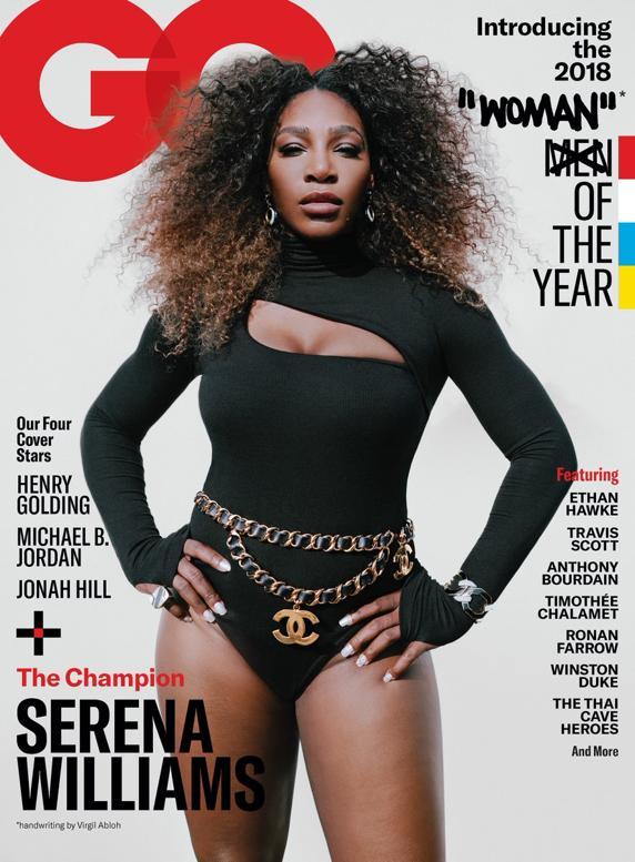 Serena, escogida Mujer del Año por la revista GQ