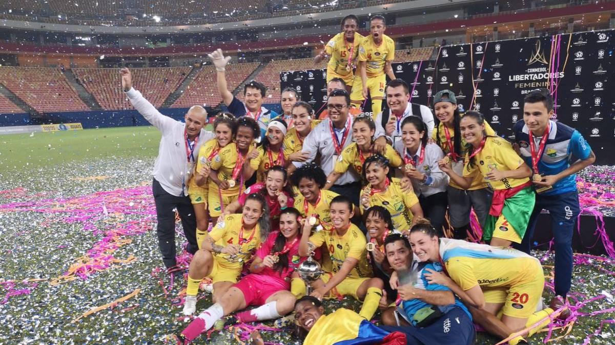 Jugadoras del Atlético Huila denuncian que el premio de la Libertadores irá al masculino