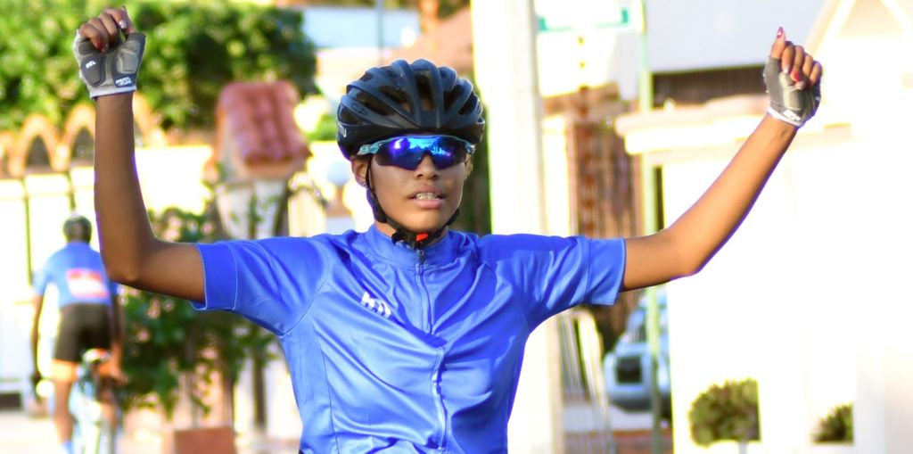 Ruth Elisa Santana, ganadora de cinco medallas de oro, se convierte en la reina de los Juegos Nacionales