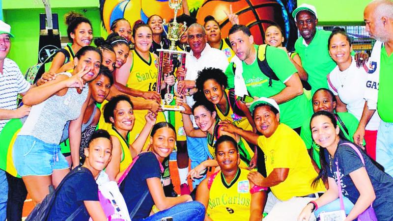 San Carlos se corona torneo basket femenino
