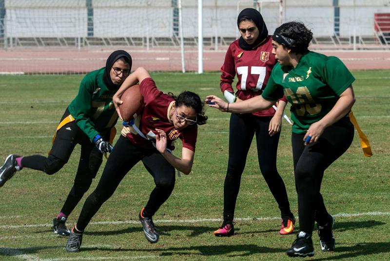 En Egipto, la liga femenina de fútbol americano no para de crecer