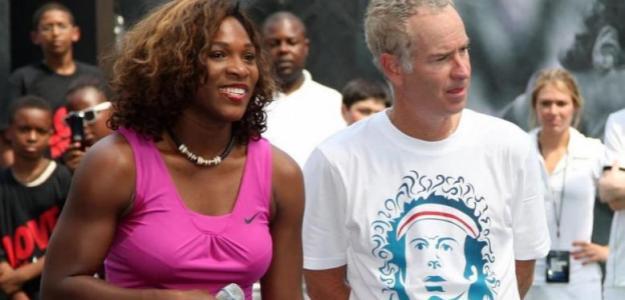 McEnroe sale a defender a Serena