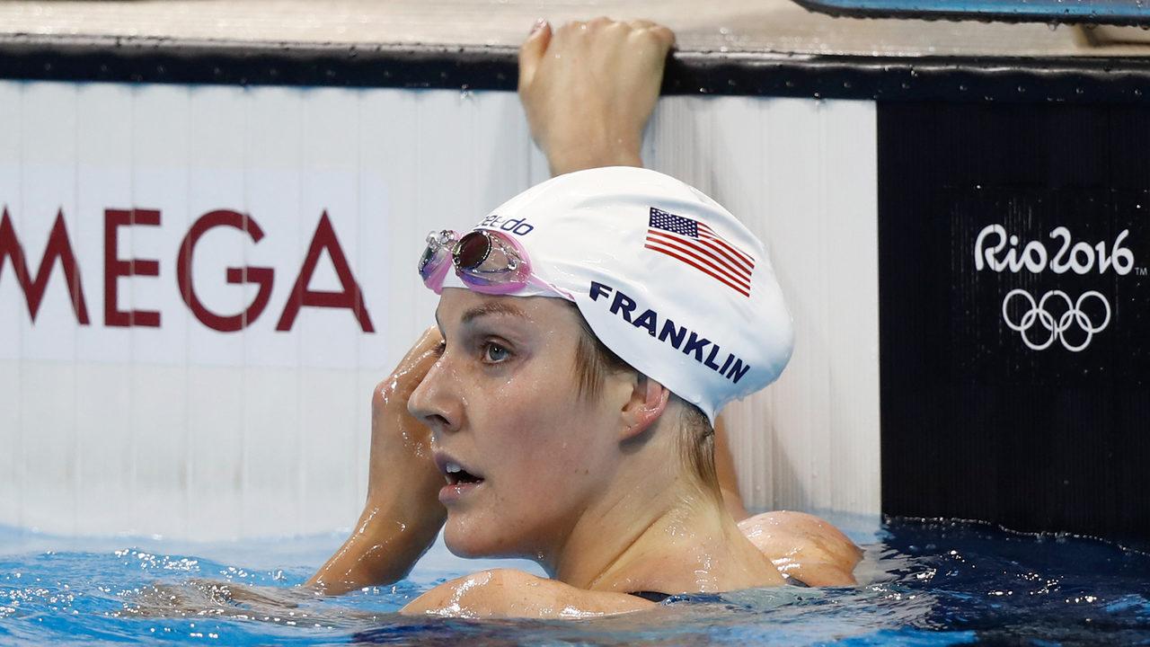 La pentacampeona olímpica Missy Franklin se retira a los 23 años