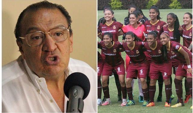 """Liga femenina de fútbol es """"caldo de cultivo de lesbianismo"""", dice directivo colombiano"""