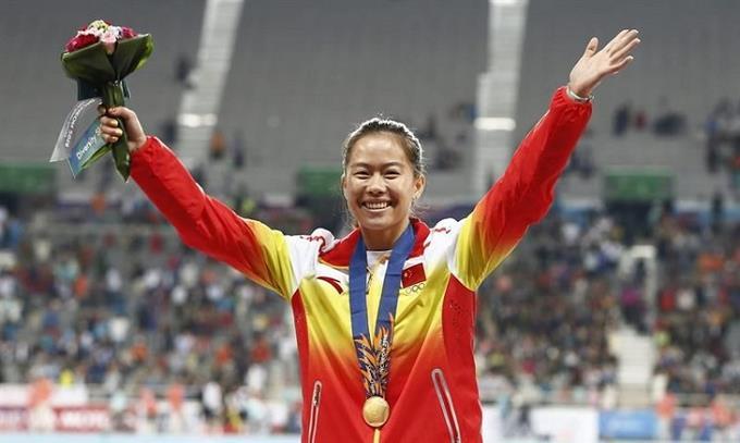 La mejor velocista china es sancionada por dopaje