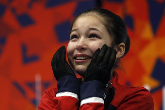 Alysa Liu, la patinadora que a los 13 años se convirtió en la más joven en ejecutar un axel triple