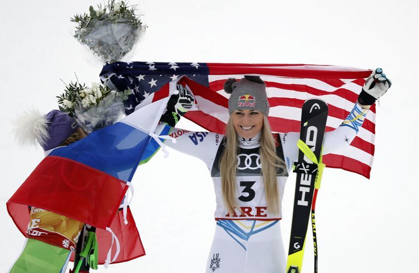 Lindsey Vonn, la estadounidense 'vikinga'