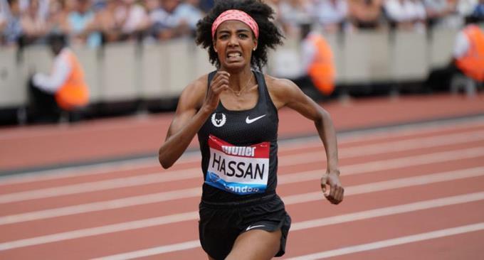 Sifan Hassan bate récords mundial de los 5,000 metros