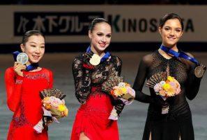 La rusa Alina Zagitova logra la triple corona en patinaje artístico con apenas 16 años