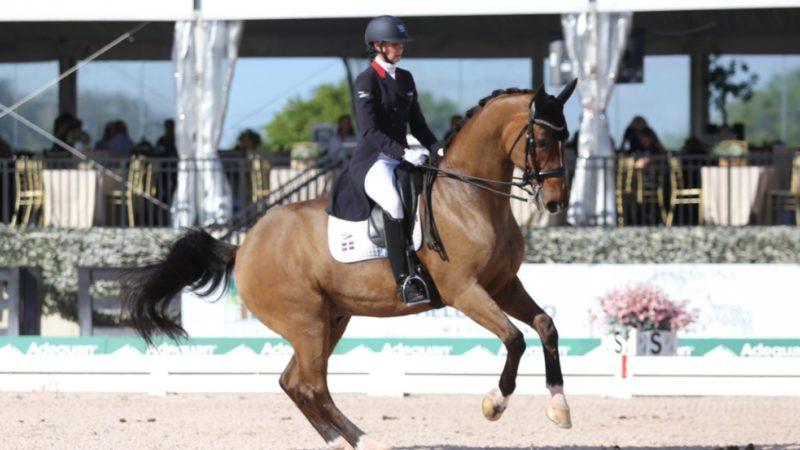 Yvonne Losos se destaca en torneo internacional de ecuestre en Miami