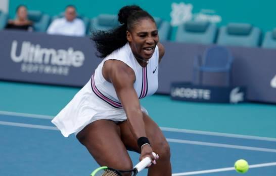 Serena Williams se retira del torneo de Miami por una lesión de rodilla