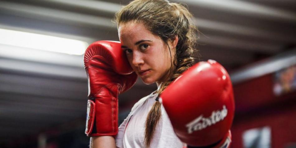 María Paula, la peruana que quiere conquistar la UFC