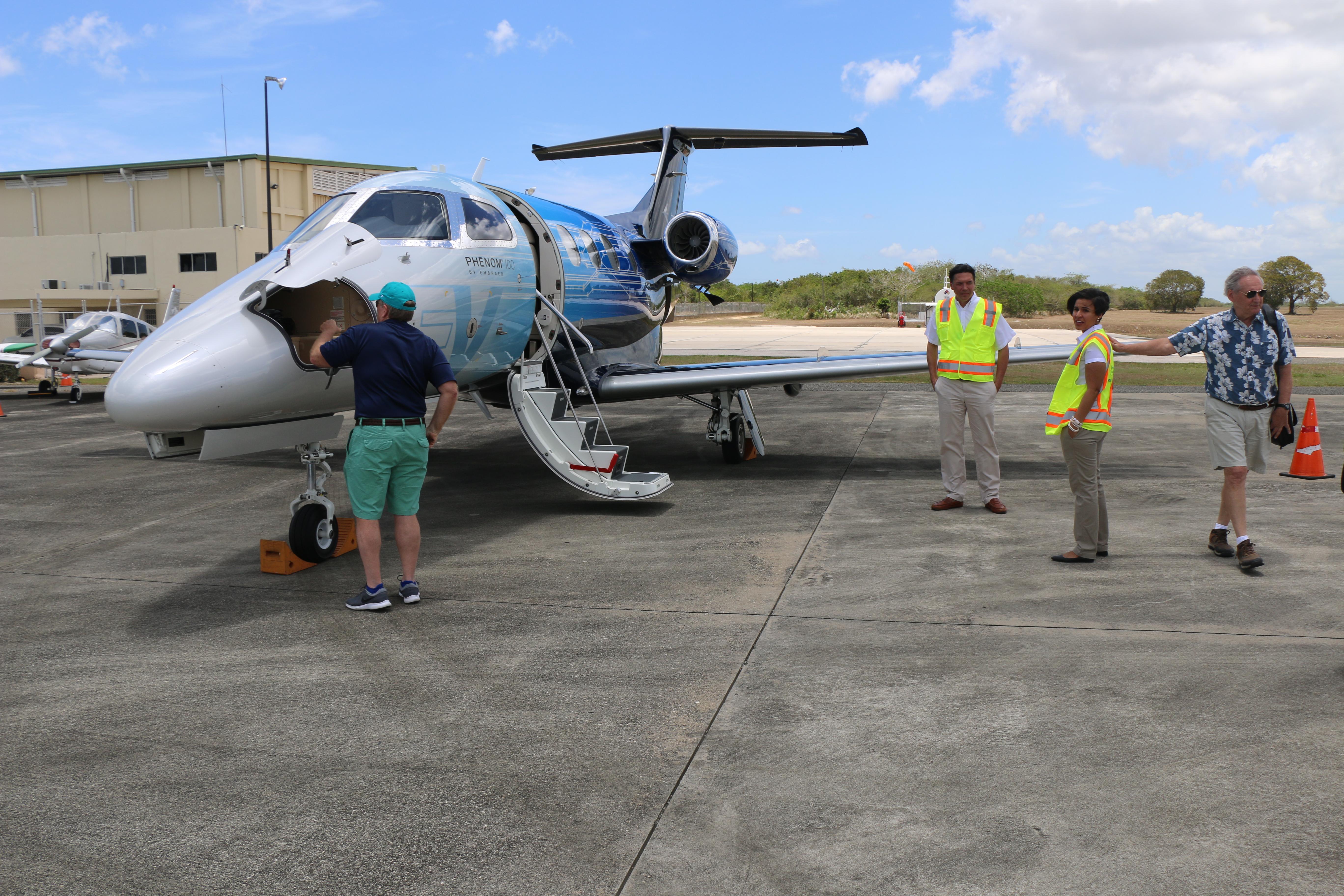 Crece en República Dominicana el turismo de pilotos de aviones privados