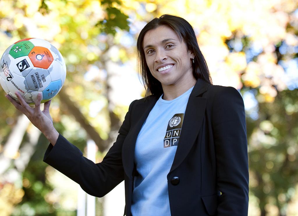 Marta promoverá desarrollo sostenible con la ONU