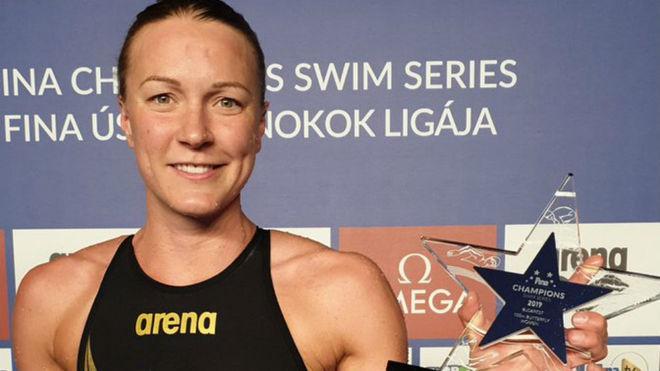 Sjöström prosigue su dominio en la FINA Champions Swim Series