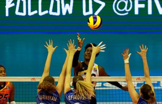 Brayelin Martínez y las dominicanas acaban con la hegemonía rusa en voleibol