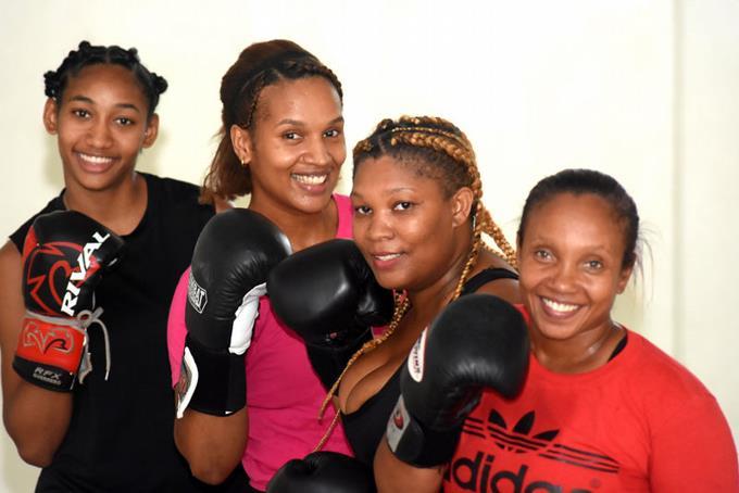 El club de boxeo exclusivo para mujeres