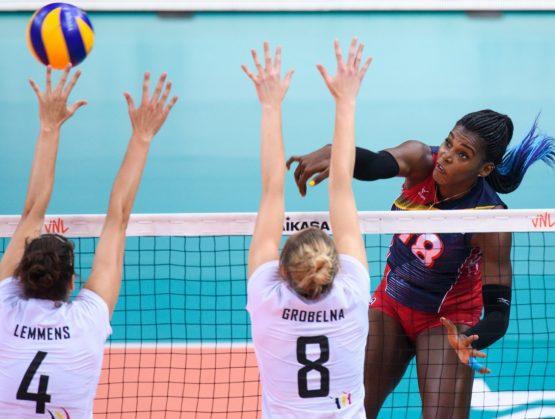 Las Reinas del Caribe vencen a Bélgica en la Liga de Naciones