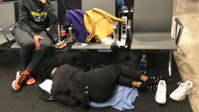 La gran odisea de un equipo de la WNBA para viajar