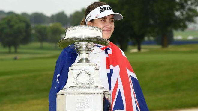 Hannah Green se estrena en grande en la PGA