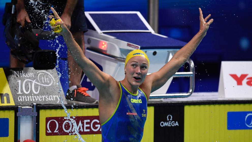 Sjostrom domina la FINA Champions Swim Series de principio a fin